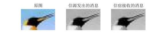 图3 经过信源信道编码与译码