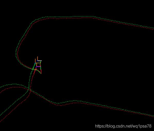 pcl绘制SLAM轨迹