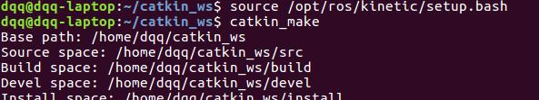 编译catkin程序包