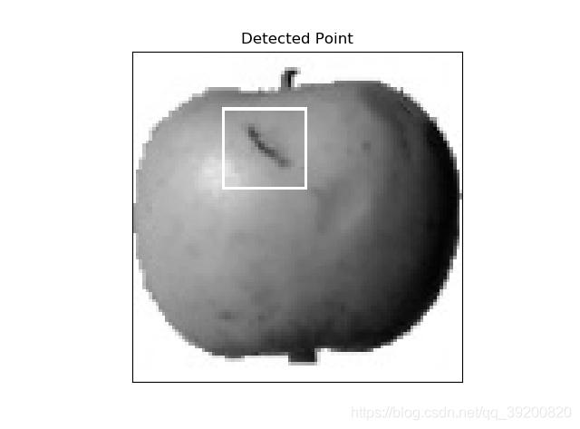 模板匹配结果defect_result