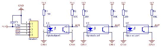 循迹模块电路原理图