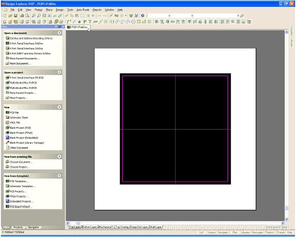 电路设计软件系列教程(四),Protel DXP电路设计软件之创建PCB文件
