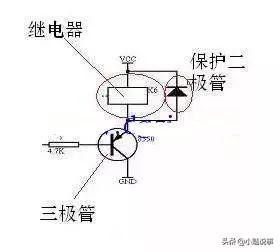 详细解析单片机控制继电器原理图以及其作用