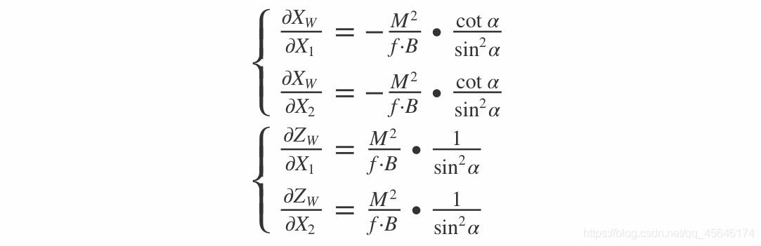 P点世界坐标表达式
