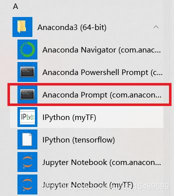 anaconda prompt