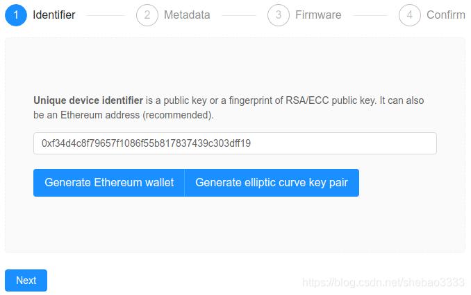[外链图片转存失败,源站可能有防盗链机制,建议将图片保存下来直接上传(img-XWUQg2iQ-1580862797779)(ethereum-iot-device-management/device-registration.png)]