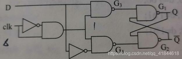 D触发器电路结构