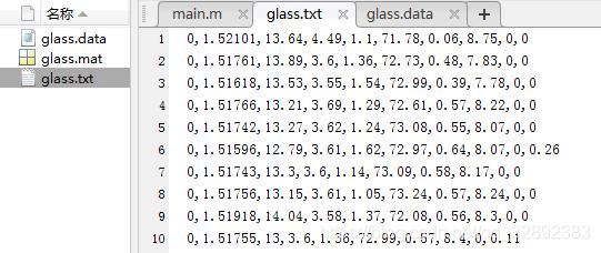 保存文件与整理好的数据