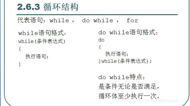 Java语言基础(while语句)