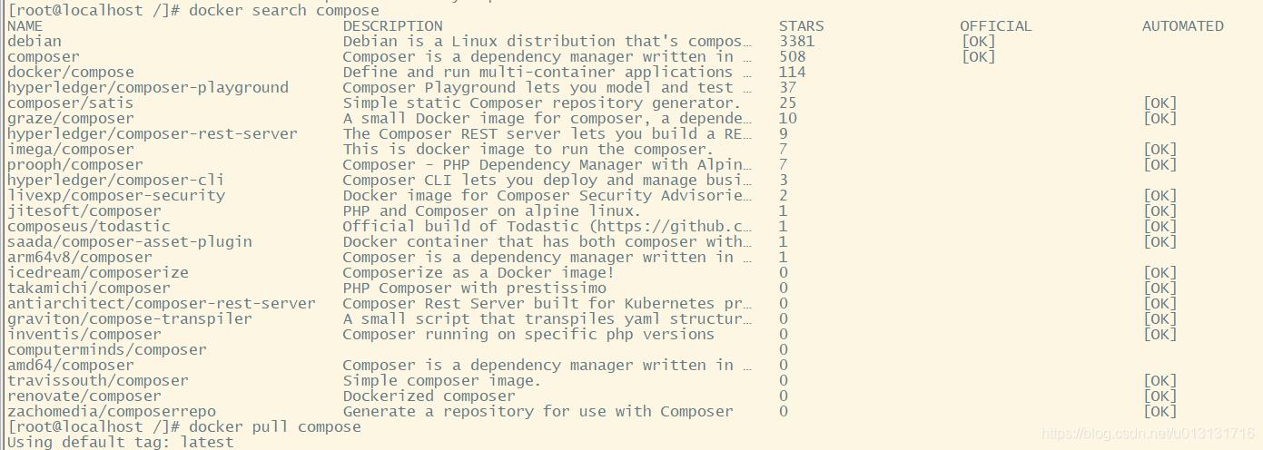 Linux安装compose