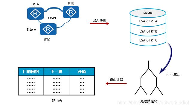 OSPF working process