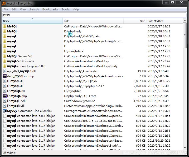 第一次使用会加载本机文件速度较慢,但后面每一次使用搜索速度都嗖嗖的