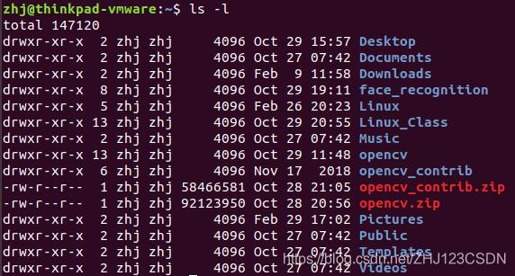 Ubuntu用户目录