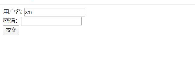 登录页面展示,比较丑,看代码即可