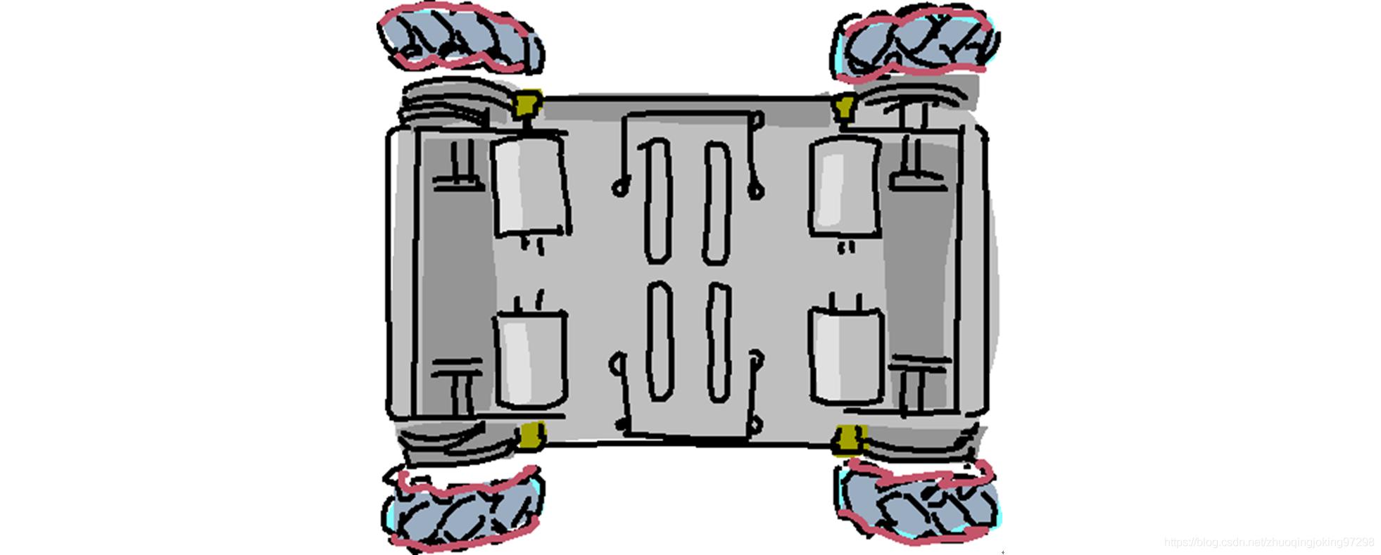 H型车模示意图