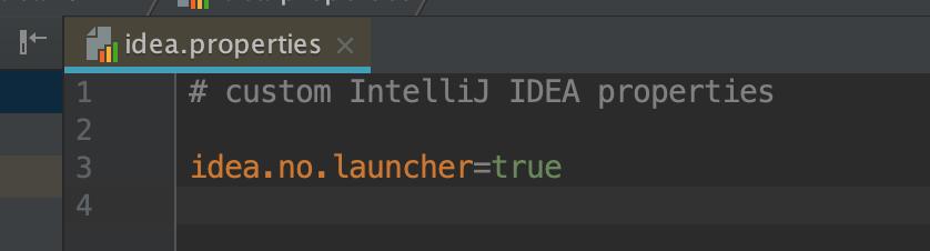 idea-no-launcher