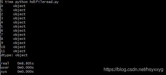 Alt 读取数据以Object类型存储的文件的数据,用时:8.805s