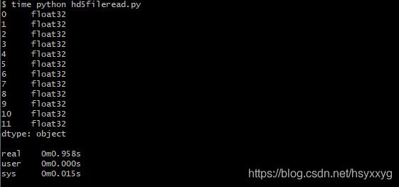 Alt 读取以numpy.float32类型存储数据文件,用时:0.958s