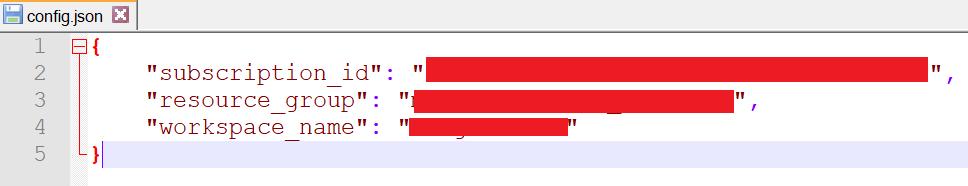 图3 工作区json配置文件