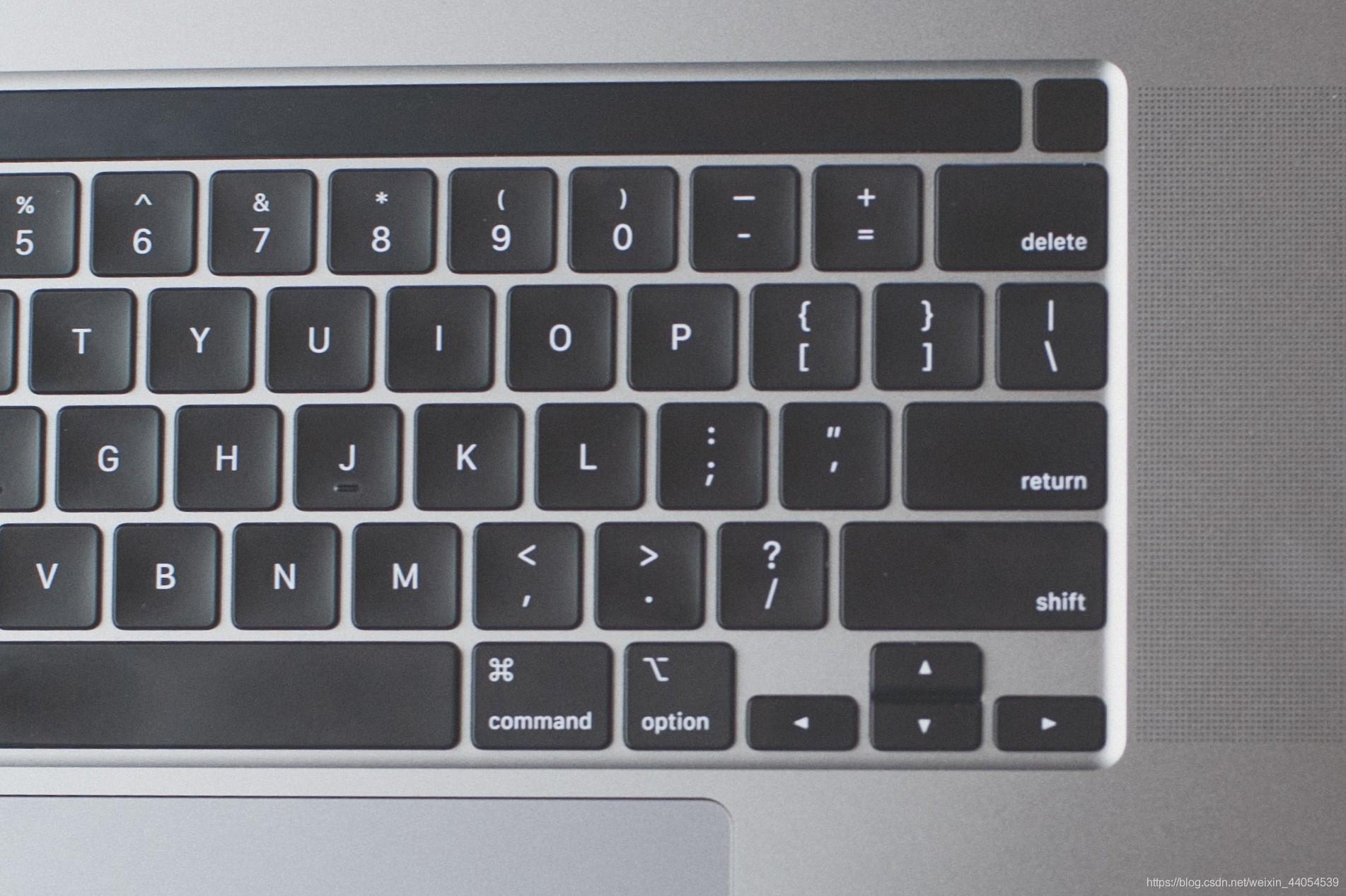键盘布局-return