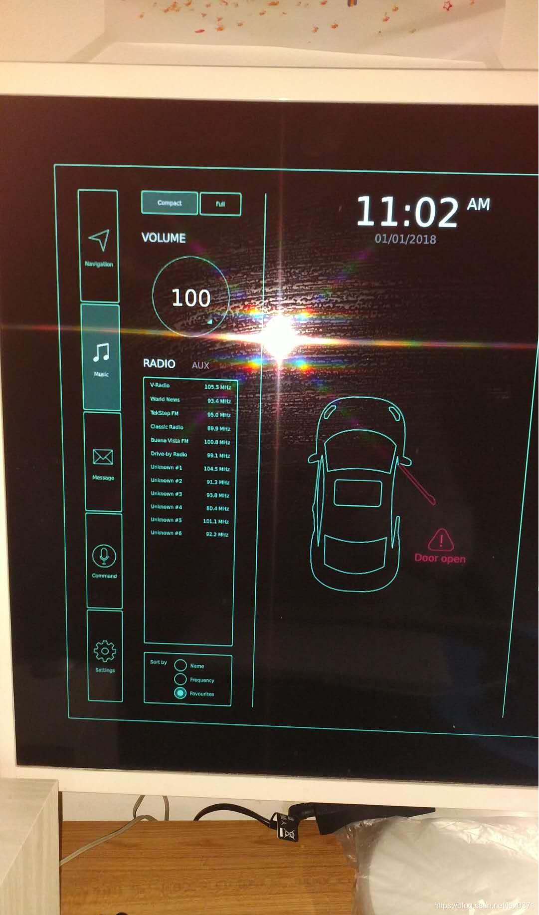 Qt自带的例子程序(automotive)