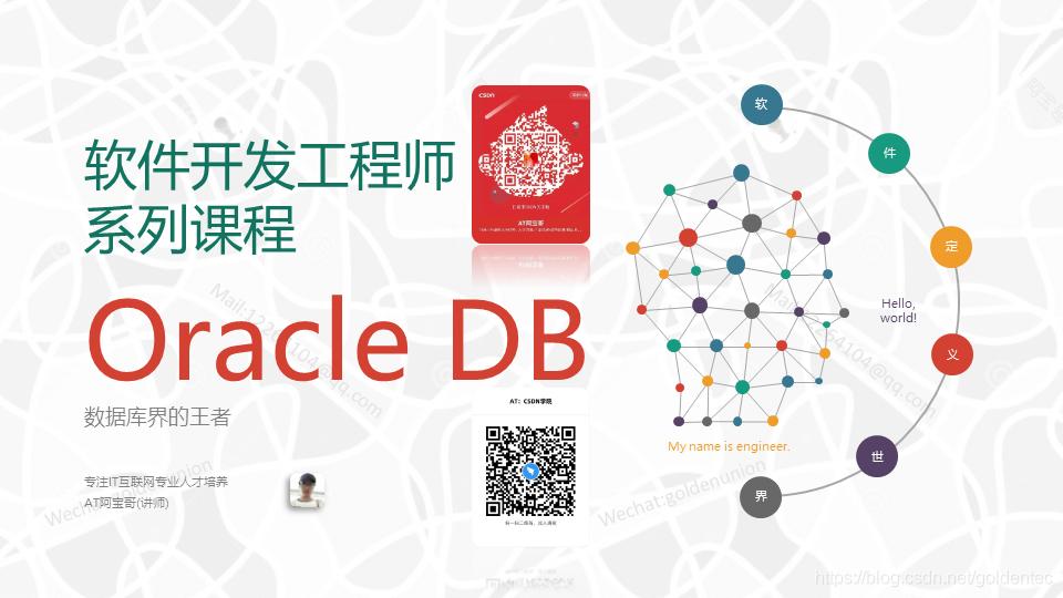 Oracle Database-AT阿宝哥