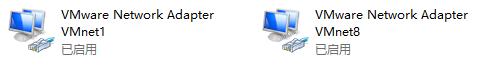 虚拟机的两个网卡