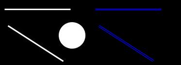 统计概率霍夫直线检测结果