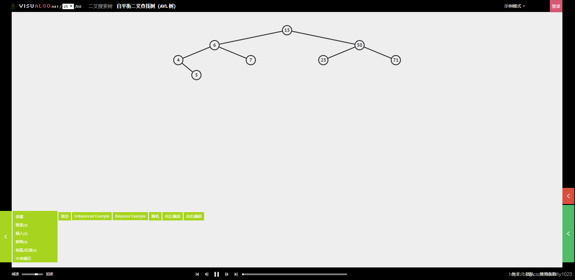 图像化理解自平衡二叉查找树(AVL 树)
