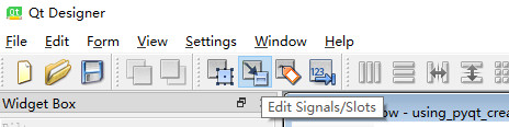 点击,进入槽函数编辑界面