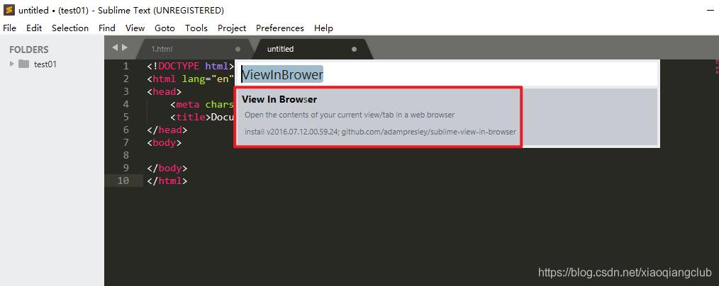 ViewInBrower