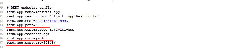 修改admin中的endpoint部分