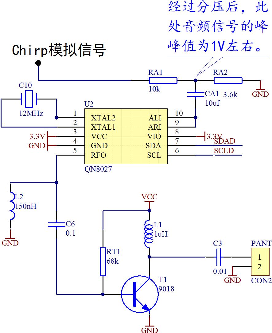 ▲ FM电路设计