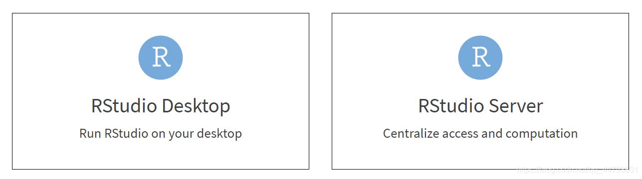 选择RStudio Desktop