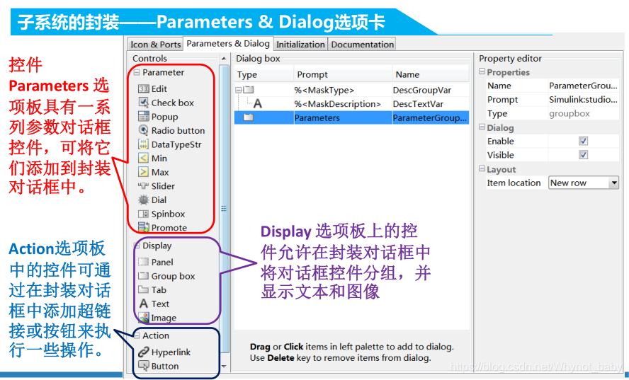 Parameters & Dialog