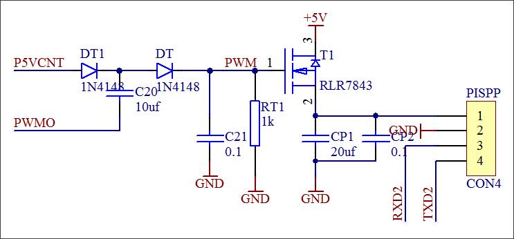 ▲ 电源控制部分