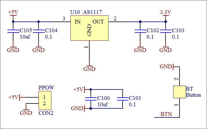 ▲ 电源模块电路