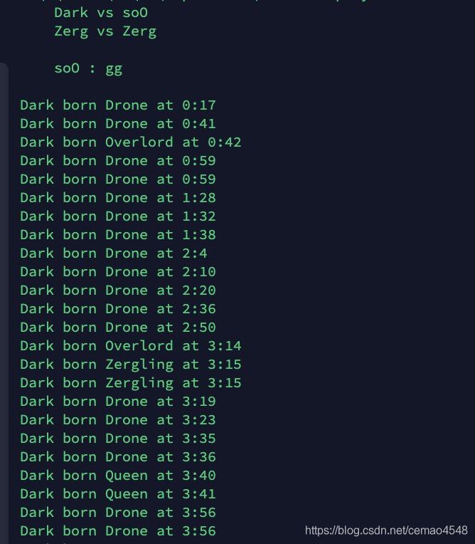 Dark建造顺序
