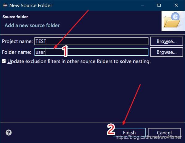 添加源文件夹