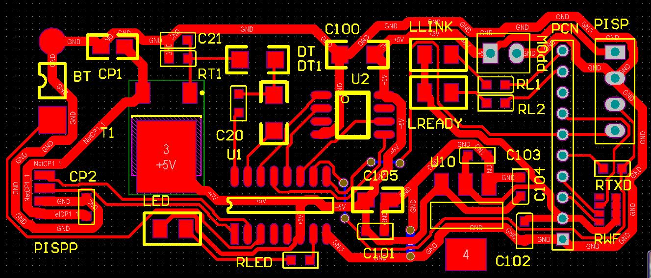 ▲ PCB板图设计