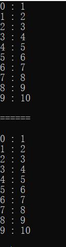 数组的下标取数据和偏移量取数据