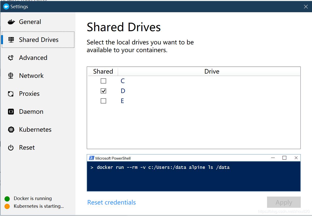 设置共享文件路径,一般全部选择上。这里演示共享D盘