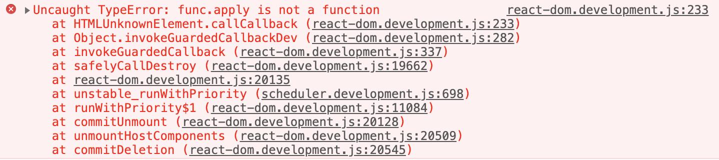 TypeError: func.apply is not a function