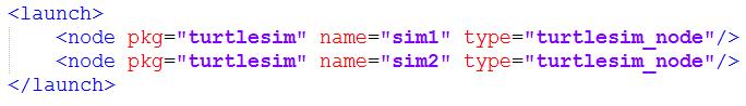 ROS-launch启动文件的使用方法