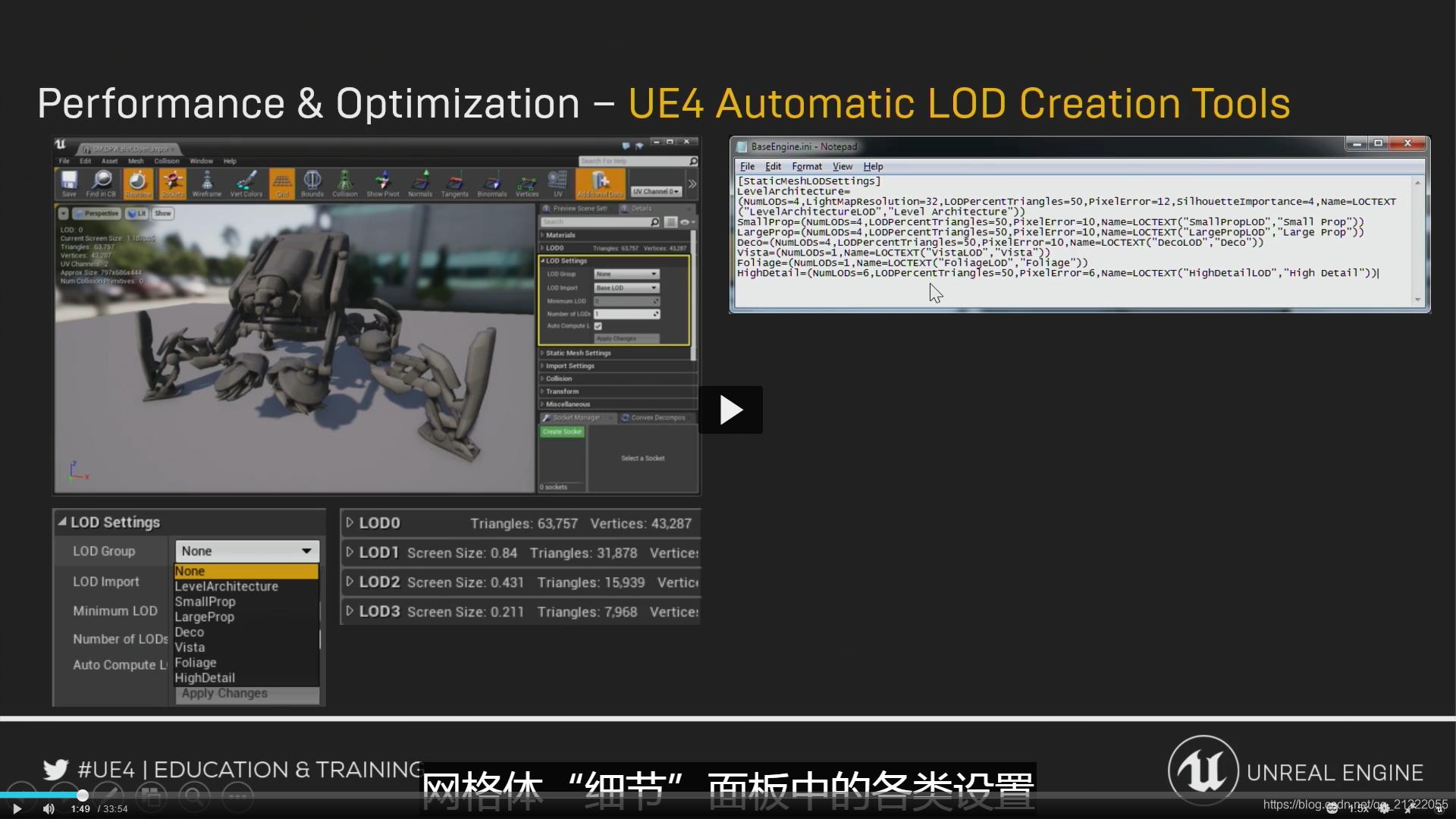 LOD自动创建工具