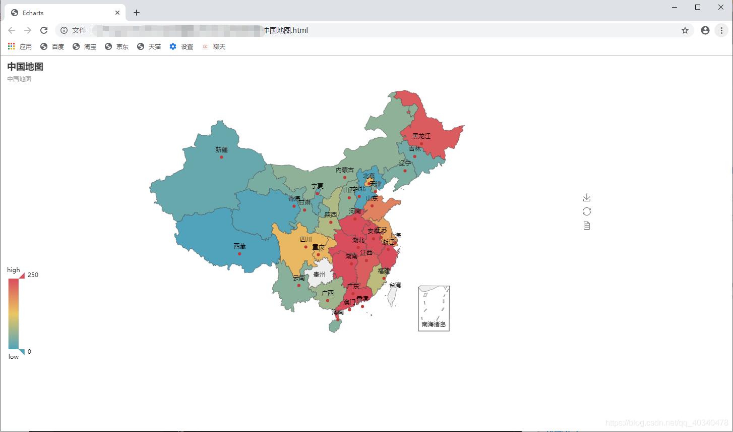 可视化神器pyecharts几行代码,快速绘制热力地图matlab华工Web练习生-
