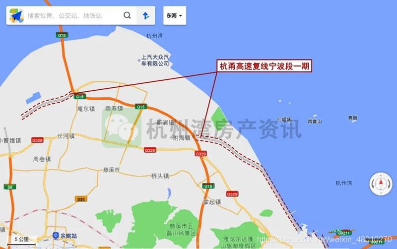 """终于等到你!国内首条支持自动驾驶技术运用的""""智慧高速""""——杭甬高速复线宁波杭州湾新区段已进入实质性建设阶段!pythonweixin48010270的博客-"""