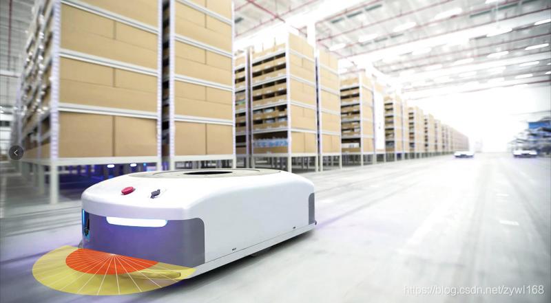 AGV搬运机器人自动避障