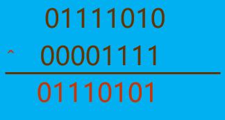 异或运算符应用1