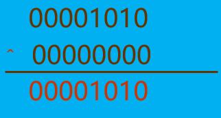 异或运算符应用2